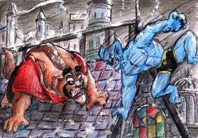 Beast VS Beast by beastiar-Veter