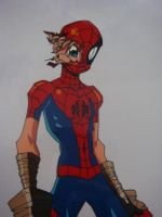 Anime Spider-Man 2 by KiraXD