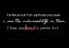 Your Heart Is Painted Black by FauxxAffliictiion