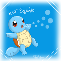 #007 Squirtle by Bluekiss131
