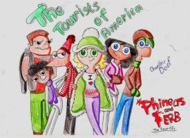 The tourists from America by Grey-Sweet