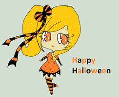 Happy Halloween by Chibii-chii