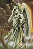 Dr. Who's Weeping Angel by JoseGalvan
