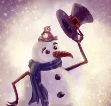 Pepe the snow hat by veroboo