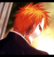 Hollow Ichigo by Nyster7