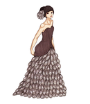 Mussel dress. by rhuu