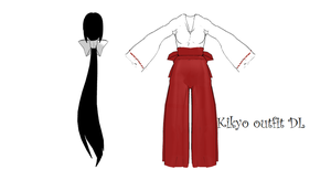 MMD Kikyo outfit DL by 2234083174