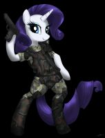 Colonial marine Coporal Rarity by CorruptionSolid