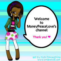 MoneyPeaceLove Youtube BG by tobi2moodring