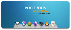 Iron Dock for AWN by leonardomdq