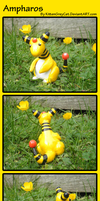 Ampharos Model by MrEchoAngel
