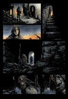 Dark Ages page 10 COLOR by klarens