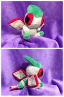 Flygon Palm Plush by Glacdeas