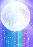 Moon background by LadyLaui