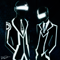 Robot Gods in Suits by AnArtistCalledRed