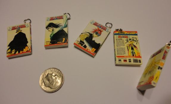 Bleach book charms by Stargatesg11