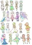Pokemon Gijinka dump by BlueRoseArkelle