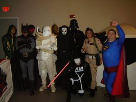 Comic book show 2011 by AcE-oFkNaVeS