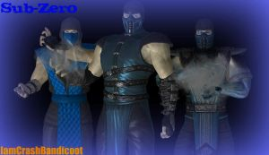 Sub-Zero Wallpaper by IamCrashBandicoot