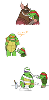 If Raph was a little shit part 5 by GoreChick