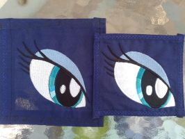 Embroidered Luna Eye by JaiYiKendra
