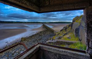 WW2 Gun Emplacement on Cramond Island. by BusterBrownBB
