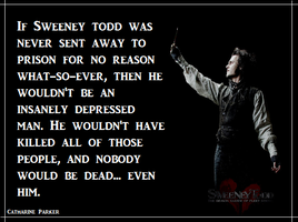 Sweeney Todd - If he never got sent to prison.... by peblezQ