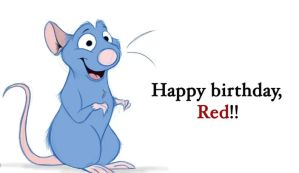 Happy Birthday, Red - Remy by Mitch-el