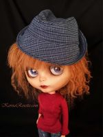 Trying a Fedora Pattern by KerriaRosette