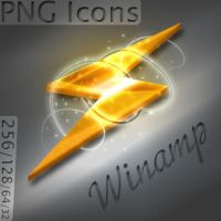 Magic light Winamp icon by DRS994