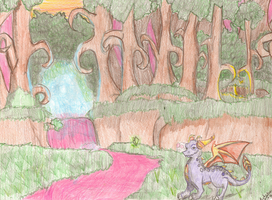 The Ancient Grove by Nightfuryismine
