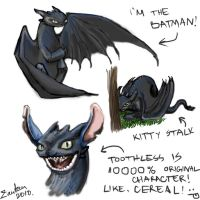 Toothless scribbles by Zanten