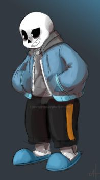 Sans (Undertale) by DovahKriid