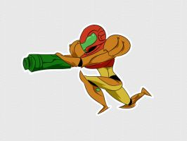 Metroid by feficharat
