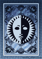 Persona Tarot Card HD - Back by The-Stein