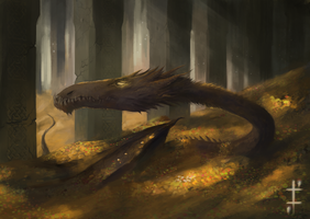 Smaug by LudvikSKP