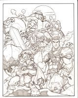 Battle Chasers by sketchheavy
