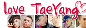I love TaeYang by KyuBel