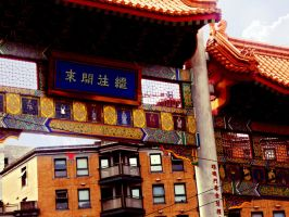 Chinatown Gate, Vancouver by Khanorr
