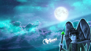 Mori Wallpaper by LivingAliveCreator