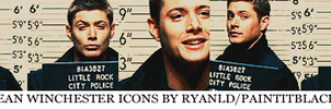 5 Dean Winchester icons by PaintitBlack02