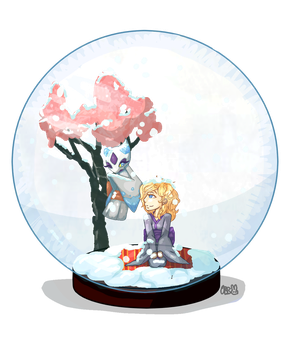 CE for HoshiMichi: 'Snow globe' by OneBitterBunny