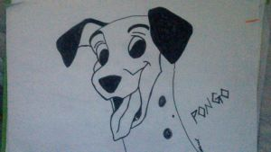 101 Dalmations - Pongo by White-Eagless