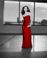 The Red Dress by Camrone