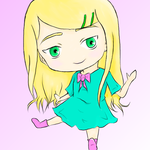 Chibi Erinne colour by Escoatic