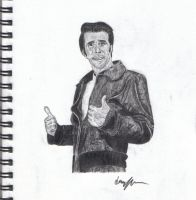 the fonz by Jarryn