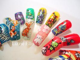 Nail art - assorted by CatalystSwitch