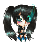 Black Rock Shooter Chib by miyukiZETA