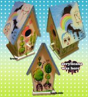 The Birdhouse by marywinkler