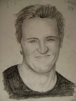 Chandler Bing by marty-mclfy